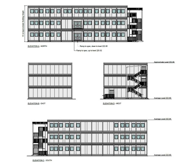 Different school buildings